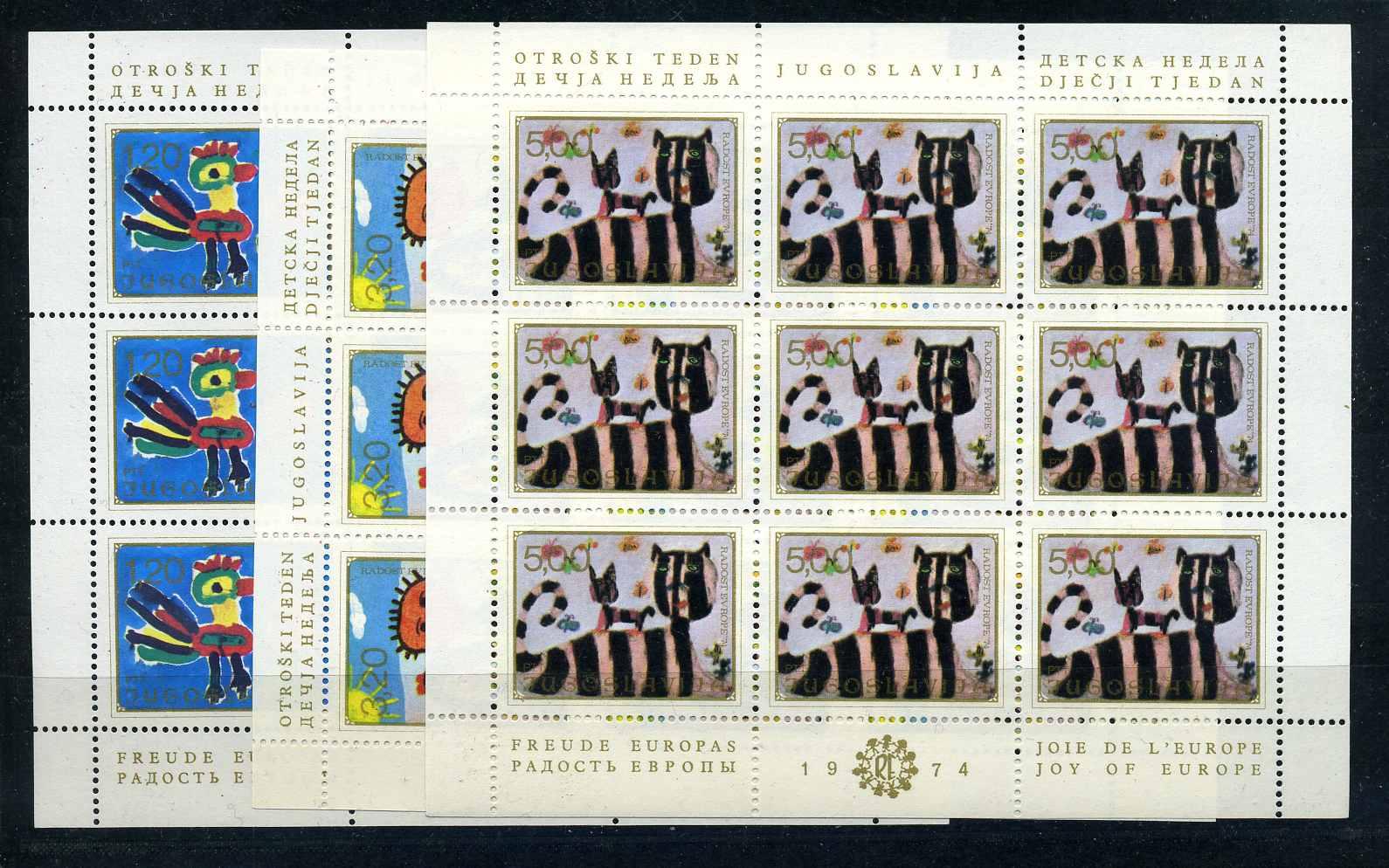 Europa Briefmarken 105101 Jugoslawien 1960 Nr 909-916 Gestempelt