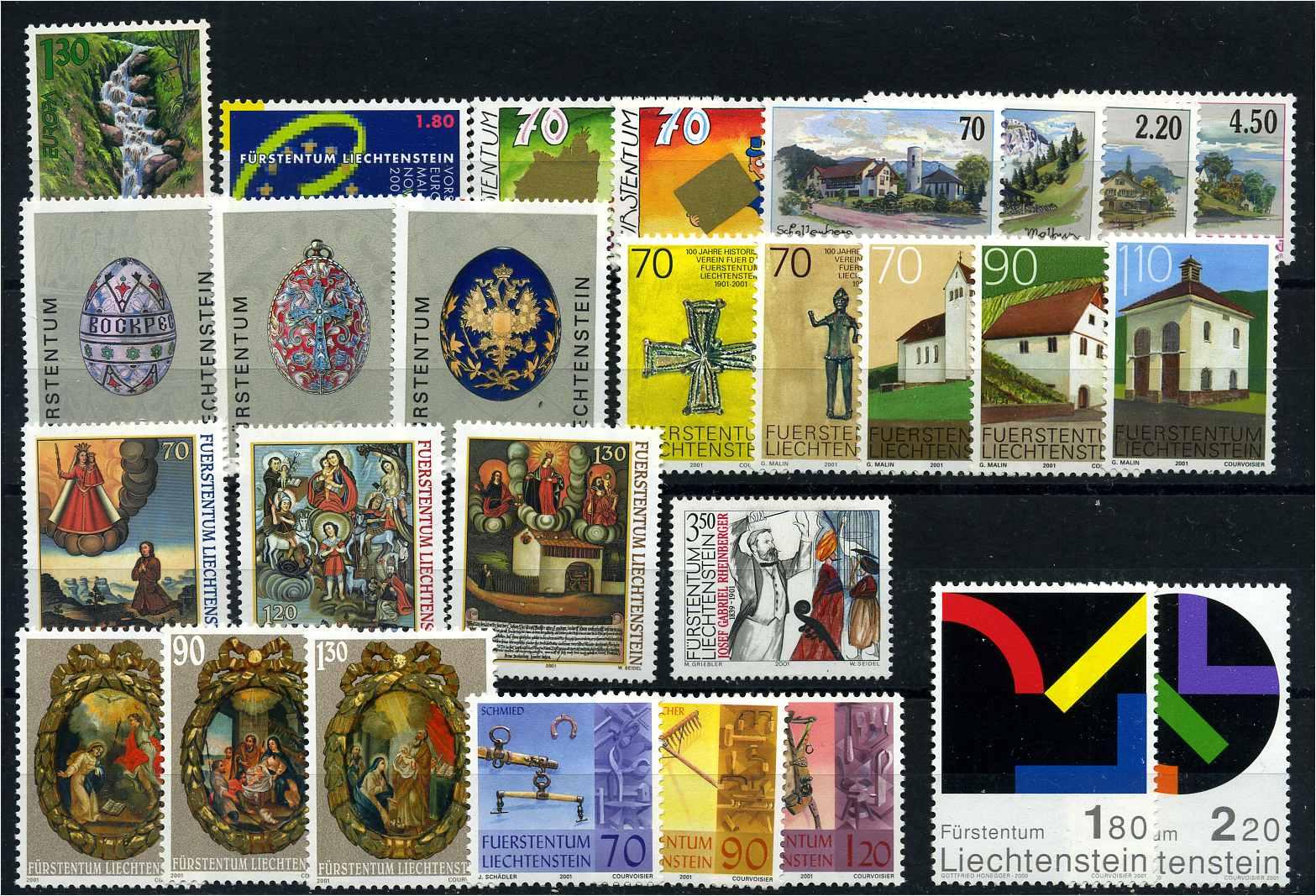 Irland ** Jahrgang 1985 In Allen Hauptnummern Kpl. Europa Briefmarken