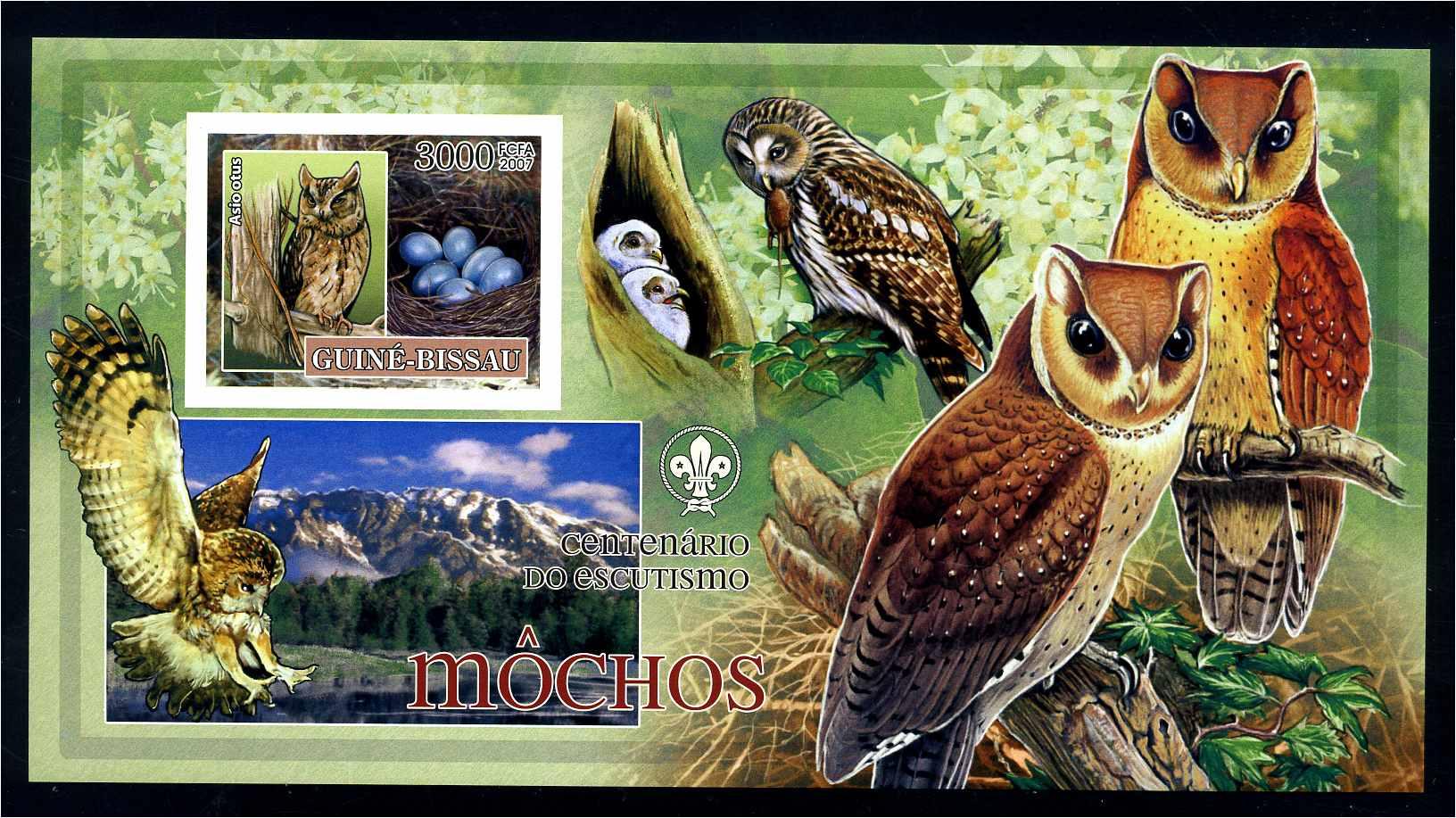 Stamps Guinea-bissau 1618-1623 Postfrisch 2001 Gemälde Topical Stamps