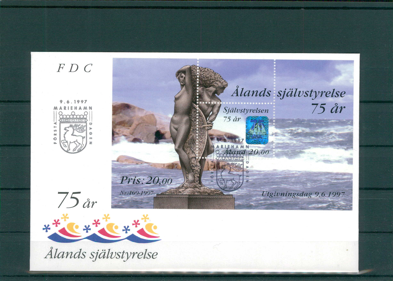 Aland 200961 Aland Fdc Aus 1997 Siehe Beschreibung