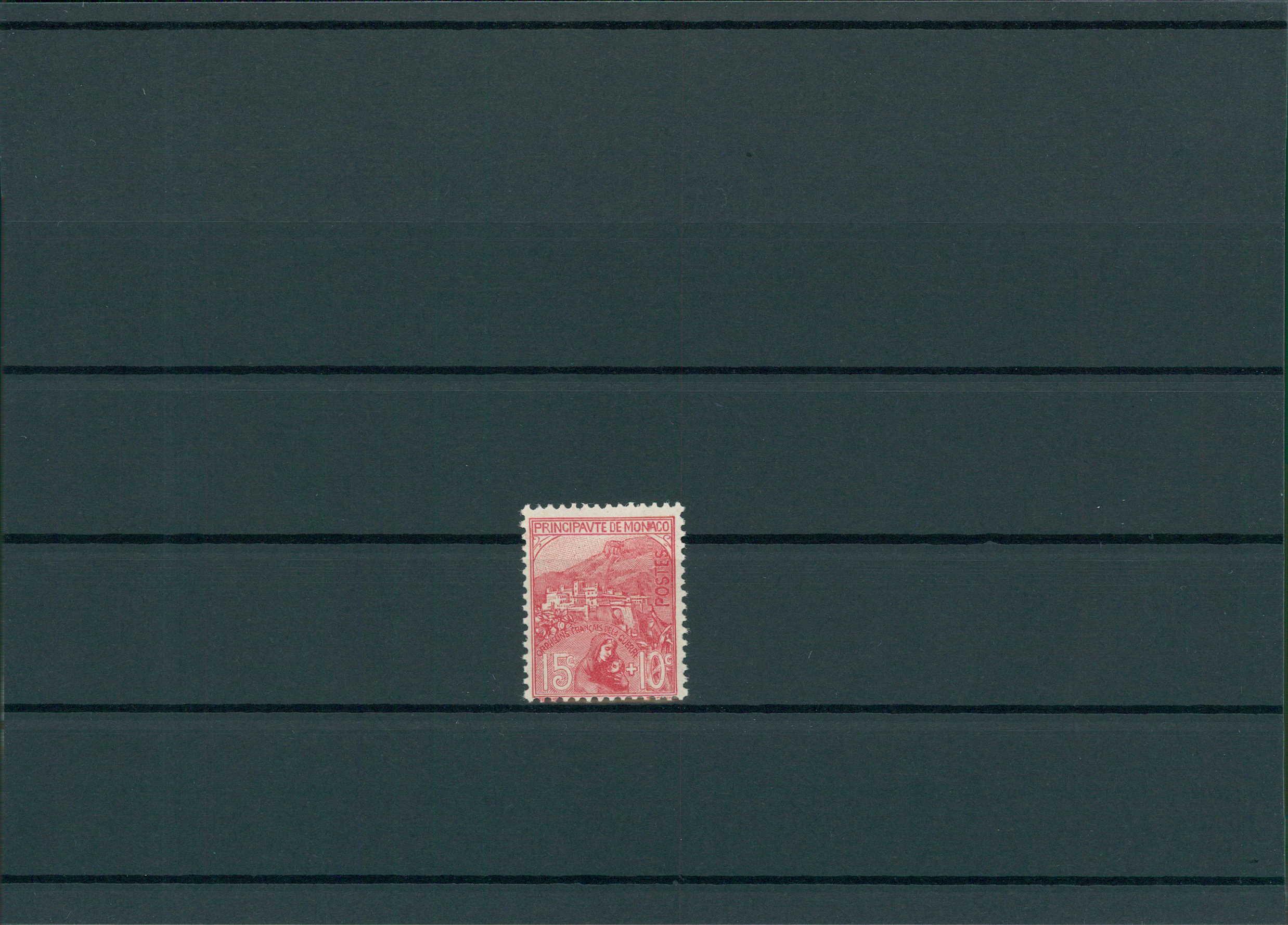 Europa Monako 1919 Nr 28 Siehe Beschreibung 201420 Briefmarken